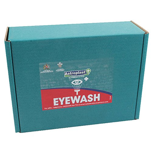 Wallace Cameron 2404039 Sterile Eye Wash, 500 mL (Pack of 2) WAC10848