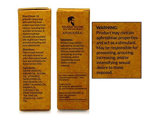 Beard Hunk Beard Oil - All Natural - MOISTURIZING ...