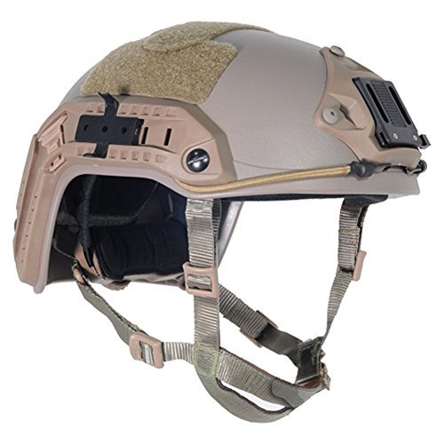 Lancer Tactical CA-805T Maritime ABS Helmet Color: Dark Eart