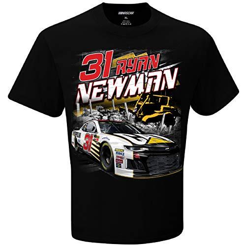 (Checkered Flag Ryan Newman CAT Torque Nascar Tee Adult Medium T-Shirt)