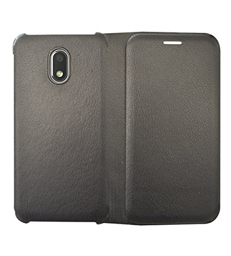 COVERNEW Flip Cover for Samsung Galaxy J7 Pro   Black