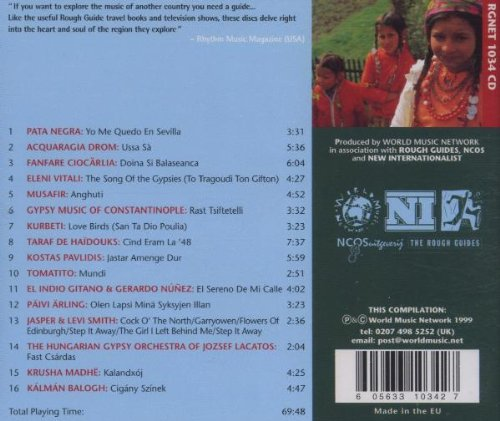 Rough Guide:  Music of the Gypsies