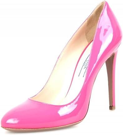Pink Leather Heels