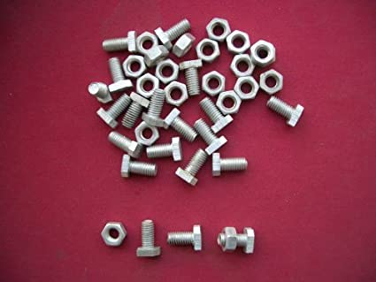 Greenhouse Accessories Cropped Headed Bolts and Nuts per 20