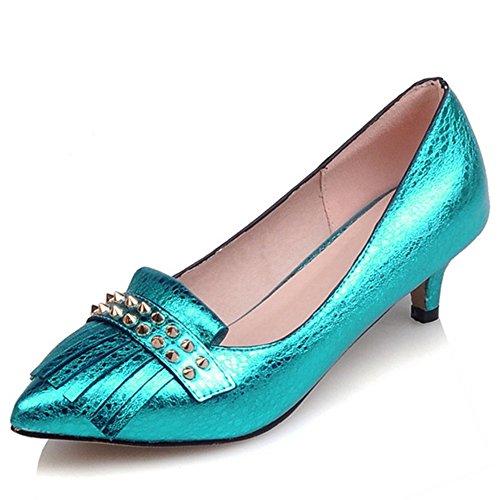 Fashion Heel - Zapatos de Tacón mujer Azul