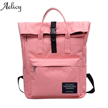 Amazon.com: UATECH Aelicy New 2017 Casual Backpack Candy Color Waterproof Backpack Male Teenage Backpacks for Girls Schoolbag mochilas Mujer 2017: Home & ...