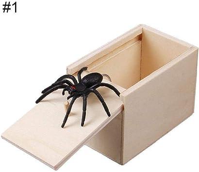 Tricky Toy caja de araña para insectos, con temor a toda la ...