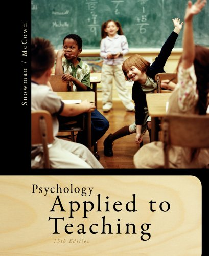 Bundle: Psychology Applied to Teaching, 13th + Education CourseMate with eBook Printed Access Card