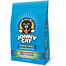 Jonny Cat Original Maximum Odor Control Scented Clay Cat Litter Bag, 20-Pound