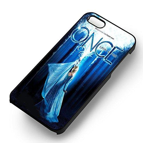 Frozen OUAT pour Coque Iphone 6 et Coque Iphone 6s Case (Noir Boîtier en plastique dur) H2O6PY