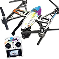 MightySkins Protective Vinyl Skin Decal for Yuneec Q500 & Q500+ Quadcopter Drone wrap cover sticker skins Splash Of Color