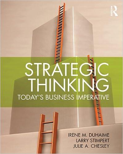 Scarica gratis il libro di j2me Strategic Thinking: Today's Business Imperative PDF RTF DJVU
