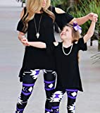 Mommy and Me Matching Cold Off Shoulder T-Shirt