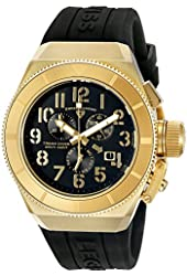 Swiss Legend Men's 'Trimix Diver' Swiss Quartz Stainless Steel Casual Watch (Model: 13844-YG-01)