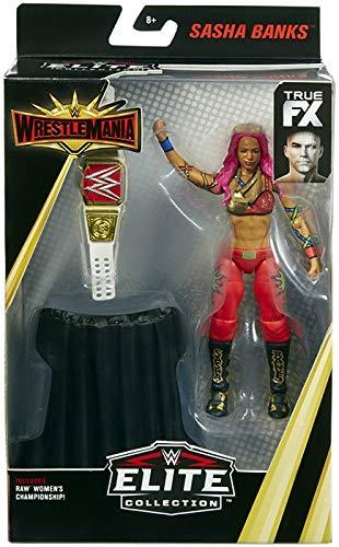 (Ringside Sasha Banks - WWE Elite Wrestlemania 35 Mattel Toy Wrestling Action Figure)