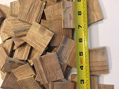 American White Oak Wood Chips for Aging Wine, Beer, Whiskey, and Other Spirits! 4 Pounds