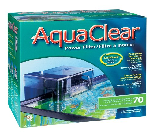AquaClear-70-Power-Filter-110-V-UL-Listed-Includes-AquaClear-70-Carbon-AquaClear-70-Foam-AquaClear-70-BioMax