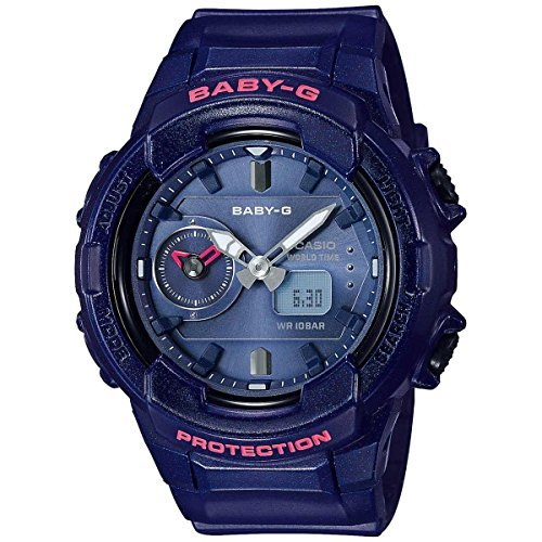 Casio Baby G Blue Dial Polyurethane Strap Ladies Watch BGA-230S-2A