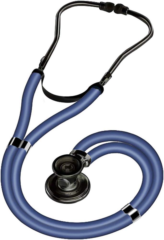 WERT Estetoscopio portátil Profesional Multifuncional Puede oír corazón fetal bebé Doble Cabeza médico Enfermera Salud médica Cuidado en el hogar