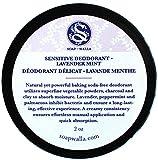 Soapwalla - Organic / Vegan Sensitive Skin Deodorant Cream (Lavender Mint, Baking Soda Free)
