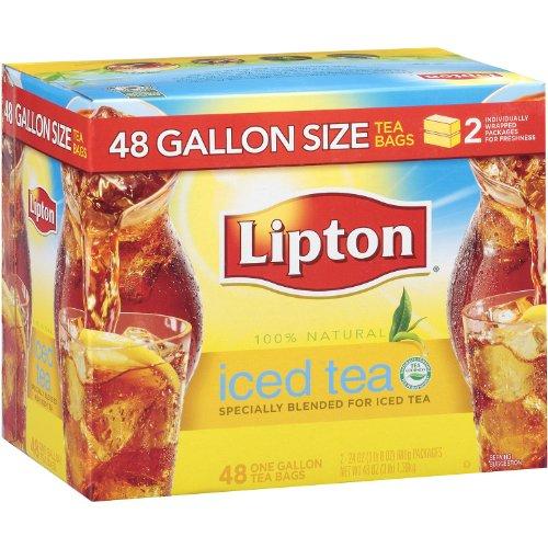 - Lipton Iced Tea, Gallon Size Tea Bags (48 ct.)