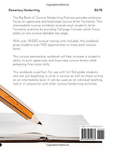 Big Book of Cursive Handwriting Practice (Over 18, 000 Cursive ...