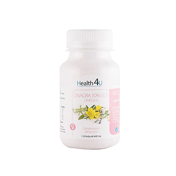 H4U Aceite De Onagra 110 Perlas De 640 Mg