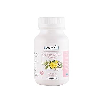 H4U Aceite De Onagra 110 Perlas De 640 Mg: Amazon.es: Salud y ...