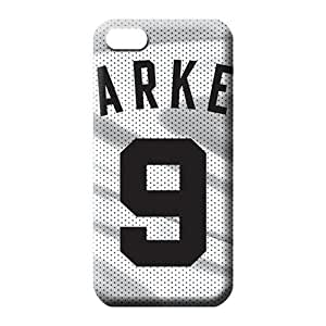 iphone 5c Strong Protect High-definition Scratch-proof Protection Cases Covers phone cover skin san antonio spurs nba basketball