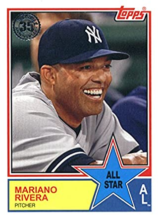 82c877ed4be 2018 Topps 1983 Topps All-Stars  83AS-62 Mariano Rivera New York Yankees