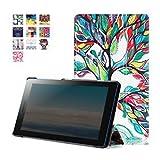 Lenovo Tab 3 Essential Case, Pasonomi Ultra Slim Lightweight PU Leather Folio Case Stand Cover for 7