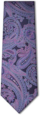 Origin Ties Classic 100% Silk Paisley Tie