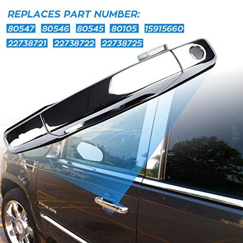 80547 Exterior Rear Right Side Door Handle for 2007-2013 Chevrolet Suburban 2500