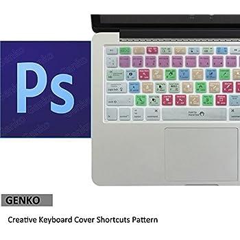 Amazon Com Adobe Photoshop Shortcuts Keyboard Skin Hot