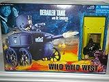 Wild Wild West, Derailer Tank with Dr. Loveless Figure
