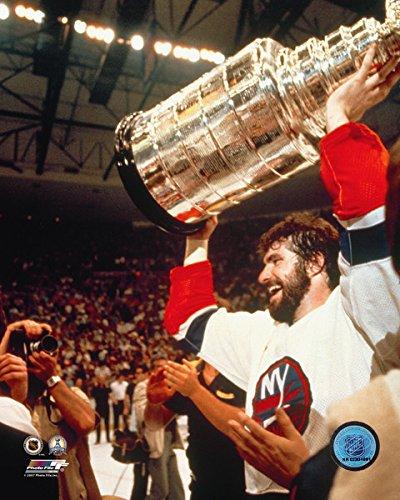 (Clark Gillies New York Islanders Stanley Cup Photo (Size: 8