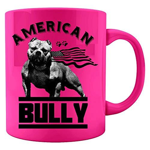 I Love My Bully - American Pitbull Dog Lover - Colored Mug ()