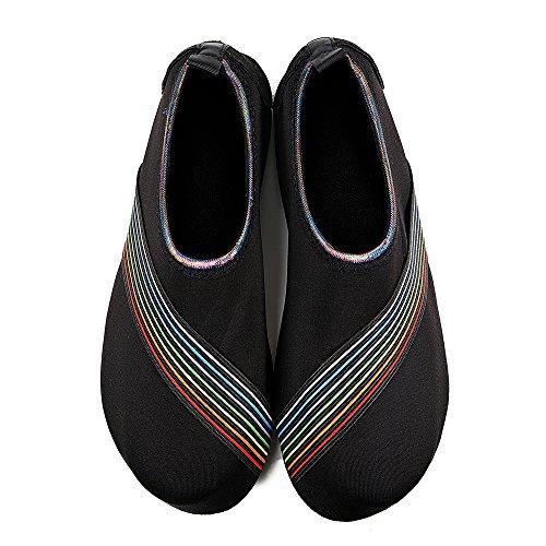 Snorkeling Iceunicorn Oblique Noir De Exercice Surf Hommes Extrieur Peau Water Pour Shoes Bain Chaussures Pied La Chaussettes Course Femmes Yoga Plage Plonge Nus Pieds gqBTgxrw