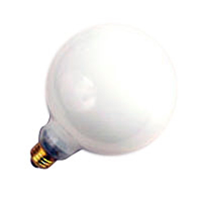 6 Qty。Halco 40 W g40 WH med 130 V Halco g40wh40 40 W 130 V白熱ホワイトランプ電球 B076DM46JH