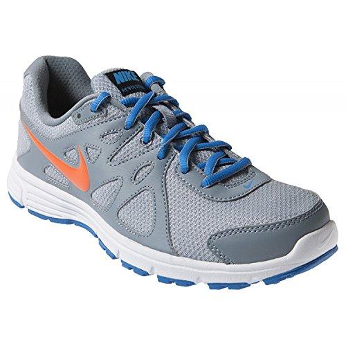 8f5e7f558212 NIKE Men s Revolution 2 MSL Running Shoes - Grey Orange Blue