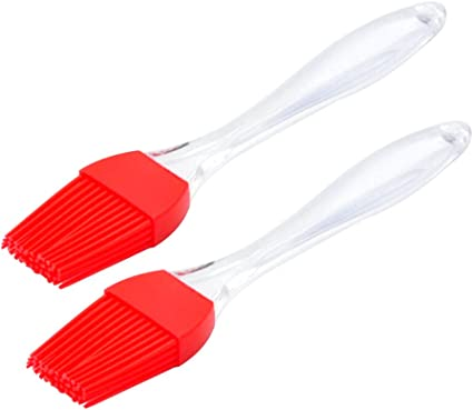 Heat Resistant Silicone Brush Oil Sauce Cream Brush for Barbecue BBQ Meat Cakes Pastries green Kitchen Oil Brush Kitchen Accessories Shotbow Silicone Basting Brush