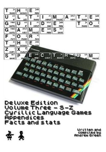 Price comparison product image The Ultimate Guide to Games for the ZX Spectrum Volume 3