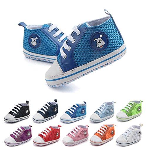 Baby Blue Pram Shoes - 4