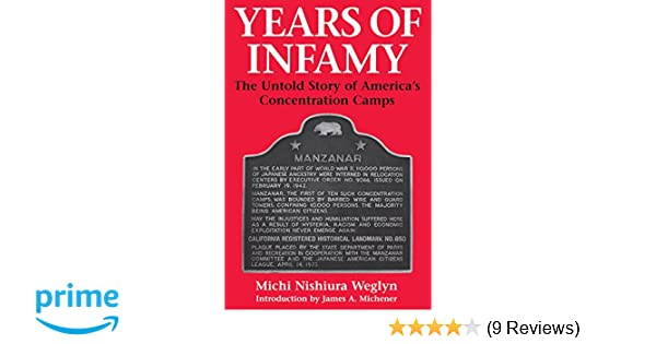 Amazon years of infamy the untold story of americas amazon years of infamy the untold story of americas concentration camps 9780295974842 michi nishiura weglyn james a michener books fandeluxe Gallery