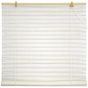 Amazoncom Oriental Furniture Shoji Paper Roll Up Blinds White