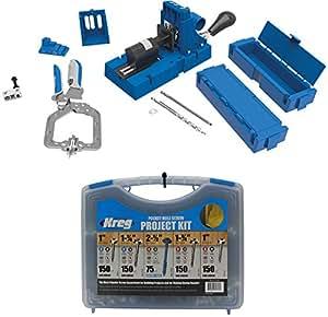 Kreg jig k5 master system with pocket hole screw kit 5 sizes kreg jig k5 master system with pocket hole screw kit 5 sizes solutioingenieria Images