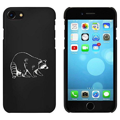 Noir 'Panda Rouge' étui / housse pour iPhone 7 (MC00080515)