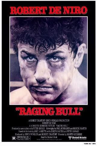 Amazon.com: Raging Bull 27x40 Movie Poster (1980): Prints: Posters & Prints