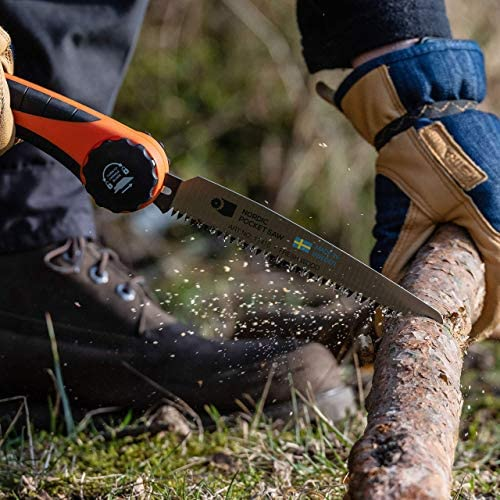 Nordic Pocket Saw The Light Weight Rugged Swedish Manual Chainsaw
