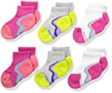 Product review for Stride Rite Little Girls' Athletic Made2play Fashion Socks Quarter 6 Packs